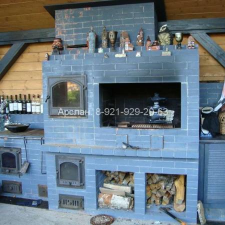Летняя кухня 2011 год - 0004