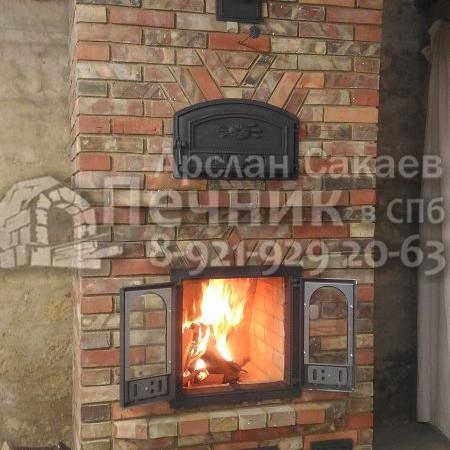 Печь-Камин с хлебной камерой 1 0013