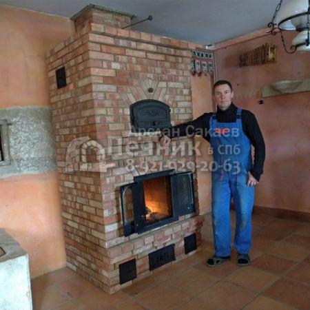 Печь-Камин с хлебной камерой 2 0015