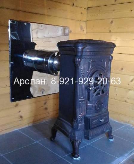 Печь-камин Nordflam Verdo, Пушкин 2016 0003